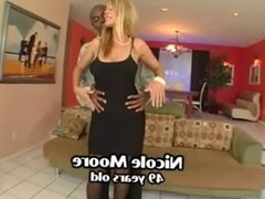 Blond mature enjoys BBC
