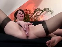 Horny brit fucked then queens face for this lucky guy