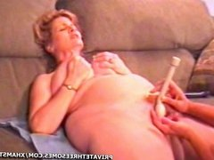 BBW Dildo Threesome