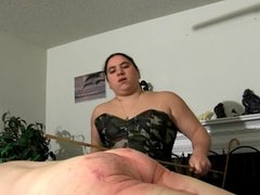 Goddess Plush Corporal Punishment