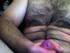 Male squirt after 30 min handjob