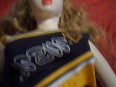 Cheerleader Taffy the Candy8teen Sex Doll Gets Fucked