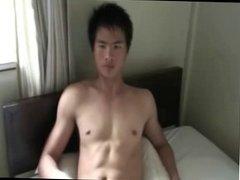 Thai Guy Showering and Wanking