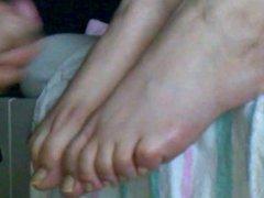 Cum on Feet Pt. 3