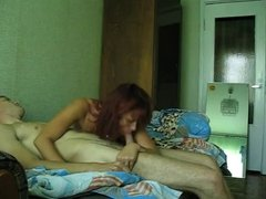 Hidden Cam MILF and guy !