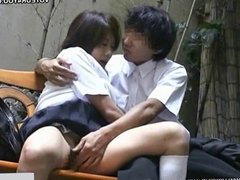 Oral sex schoolgirl fingering