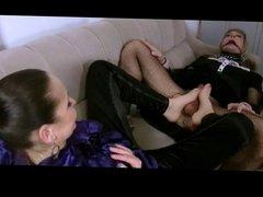 Femdom Feet Masturbation by TROC