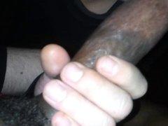 Faggot sucking my cock