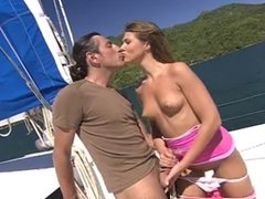 OLIVIA LA ROCHE - Czech Model Nailed On Yacht