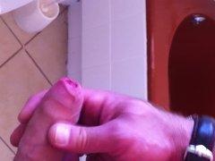 Public Toilet Jerking