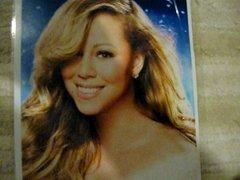 Mariah Carey Xmas Facial