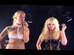 Smoking Fetish - Austin Disko Lingerie Cigarette Holder