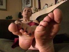 German Foot Bitch