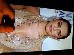Miley Cyrus Cum Tribute No. 8