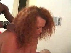 Bbw mature fucks with interracial boy