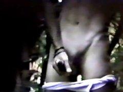 1980s spycam strangers who goodcum in the woods