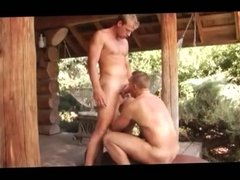 interracial foursome outdoor