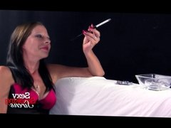 Smoking Fetish - Heaven Lingerie Cigarette Holder