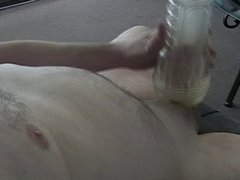 Two cums with fleshlight