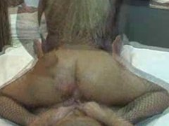 MILF homemade anal cock riding