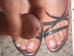 cum on feet pic