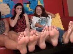 Lesbian Smelly Feet Challenge
