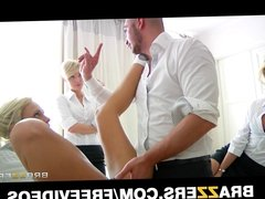 Group of stunning Russian schoolgirls are taught to squirt