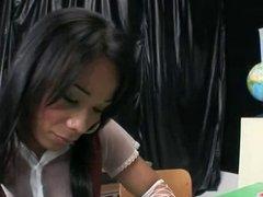 Andraia at school