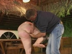 BBW German Mature Rough Fucking