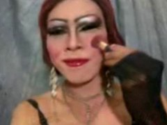 patricia pattaya makeup and masturbation