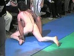 Let's fight nude in Public