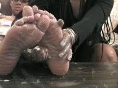 Ebony Foot JOI
