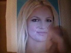 Cum on Britney