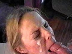 Hot Amateur Teen Facial Cumshot after Blowjob