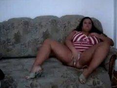 Big tits girl BBW webcam sex