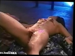 Chained Roped Waxed And Whipped Asian Teen