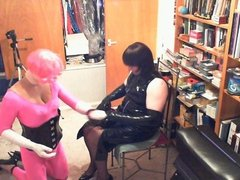 Sissy Dolly Cuffed
