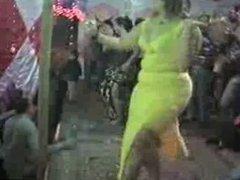 arab belly dancer