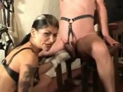 Mistress Dometria speed puch my balls 2