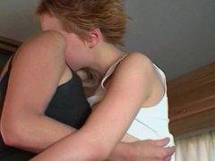 mom and teen lesbian