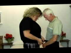 Old guy with BBW