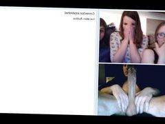 Big Cock Reactions on Webcam Part 2