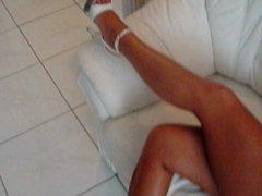 One of my ex girlfriends feet, higheels and legs 03
