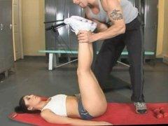 Luscious Lopez gettin Butt-Workout
