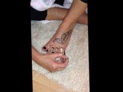 do u like my nails in black
