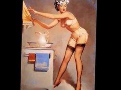 Classic Pinup Art - Gil Elvgren