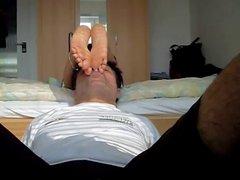 Wife foot worship 2