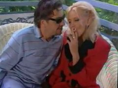 Classic Hot Blonde Smoking and Banging