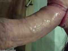 Creamie Sucking Fucking Dick