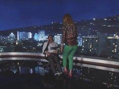 Nicole Kidman gives a lap dance